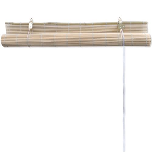 Natural Bamboo Roller Blind 120 x 220 cmHome &amp; Garden<br>Natural Bamboo Roller Blind 120 x 220 cm<br>