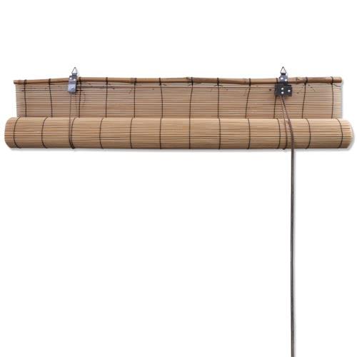 Brown Bamboo Roller Blind 140 x 160 cmHome &amp; Garden<br>Brown Bamboo Roller Blind 140 x 160 cm<br>