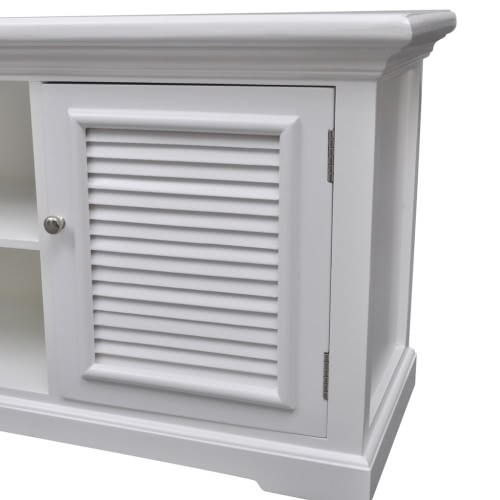 White Wooden TV StandHome &amp; Garden<br>White Wooden TV Stand<br>