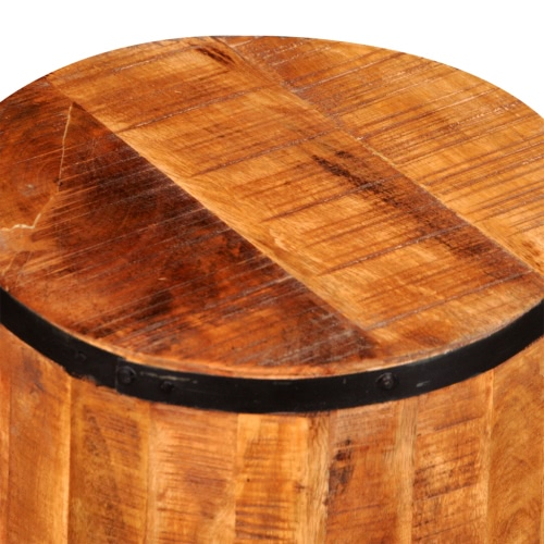 Rough Mango Wood StoolHome &amp; Garden<br>Rough Mango Wood Stool<br>