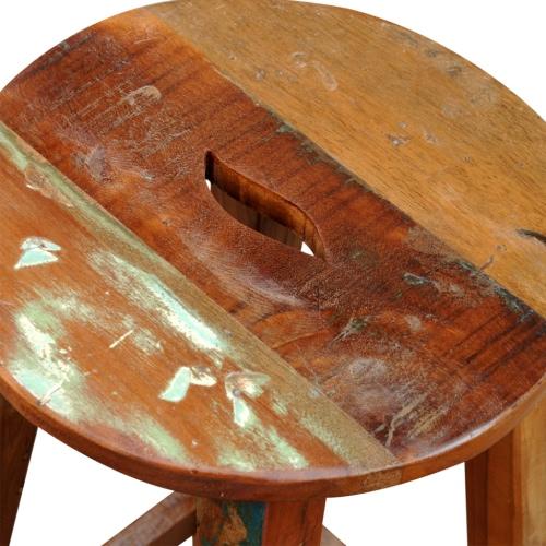 Barhocker aus recyceltem HolzHome &amp; Garden<br>Barhocker aus recyceltem Holz<br>