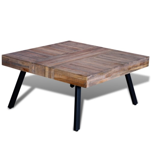 Coffee Table Square Reclaimed TeakHome &amp; Garden<br>Coffee Table Square Reclaimed Teak<br>