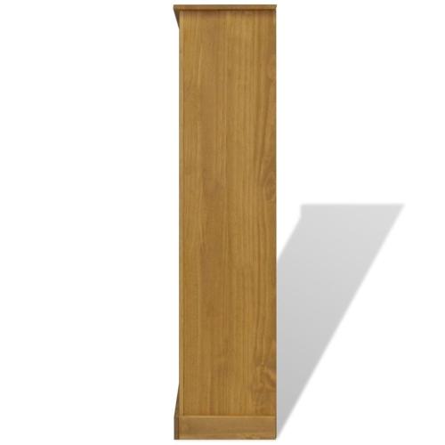 4-Tier Bookcase Mexican Pine Corona Range 81x29x150 cmHome &amp; Garden<br>4-Tier Bookcase Mexican Pine Corona Range 81x29x150 cm<br>