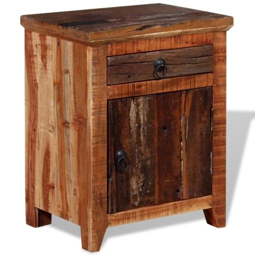 Nightstand Solid Acacia Sleeper WoodHome &amp; Garden<br>Nightstand Solid Acacia Sleeper Wood<br>