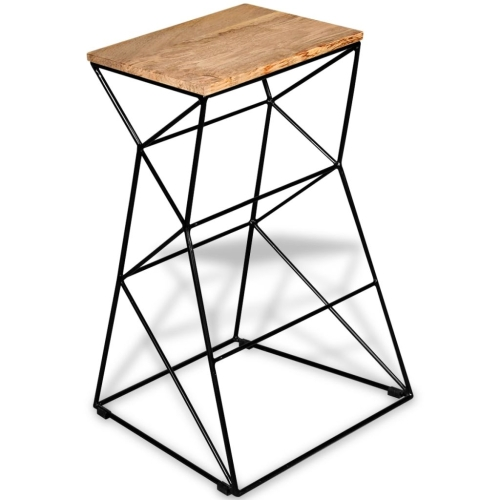 Bar Stool Solid Mango WoodHome &amp; Garden<br>Bar Stool Solid Mango Wood<br>