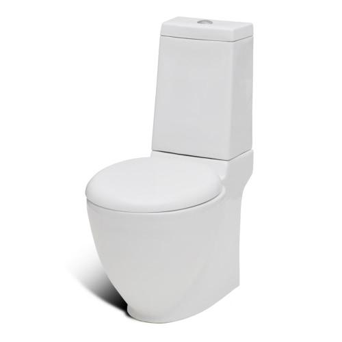 Stand-Toilette/WC+Soft WC Sitz+Stand-Bidet Bodenstehend wei?Home &amp; Garden<br>Stand-Toilette/WC+Soft WC Sitz+Stand-Bidet Bodenstehend wei?<br>