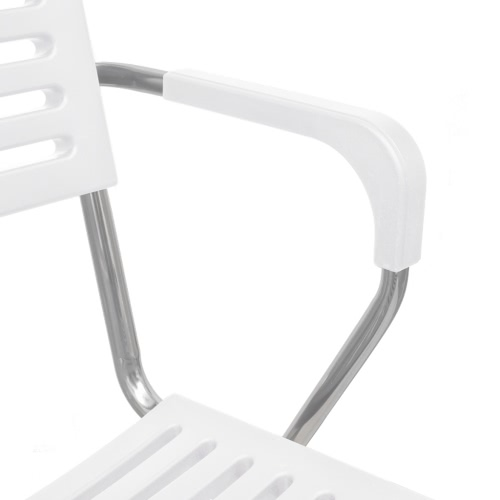 White Stackable Arm Chair 12 pcsHome &amp; Garden<br>White Stackable Arm Chair 12 pcs<br>