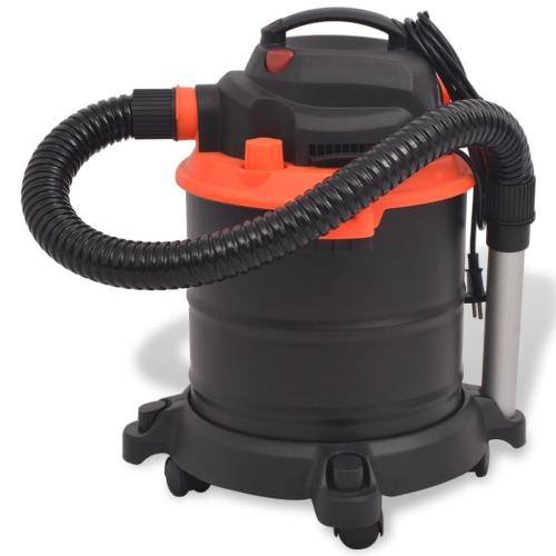Ash Vacuum Cleaner 1200 W 20 L Black and OrangeHome &amp; Garden<br>Ash Vacuum Cleaner 1200 W 20 L Black and Orange<br>