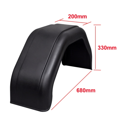 2x Mudguard for Trailer Wheels 200 x 680 mmCar Accessories<br>2x Mudguard for Trailer Wheels 200 x 680 mm<br>