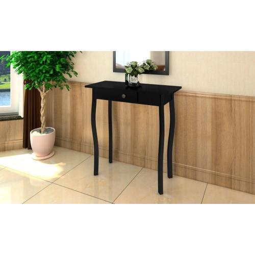 Cottage Style Table BlackHome &amp; Garden<br>Cottage Style Table Black<br>