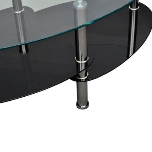 Coffee Table Exclusive 3-layer Design BlackHome &amp; Garden<br>Coffee Table Exclusive 3-layer Design Black<br>