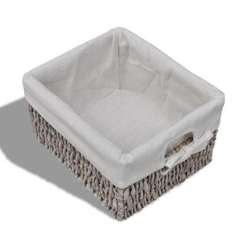 Brown Wooden Cabinet 3 Left Weaving BasketsHome &amp; Garden<br>Brown Wooden Cabinet 3 Left Weaving Baskets<br>