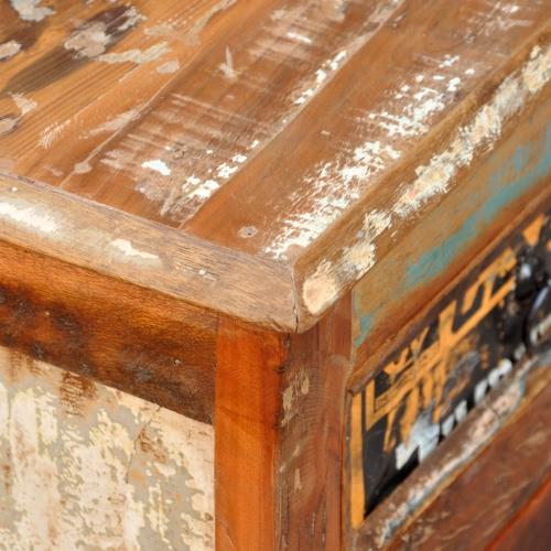 Reclaimed Wood Cupboard Cabinet Sideboard 3 Drawers 3 DoorsHome &amp; Garden<br>Reclaimed Wood Cupboard Cabinet Sideboard 3 Drawers 3 Doors<br>
