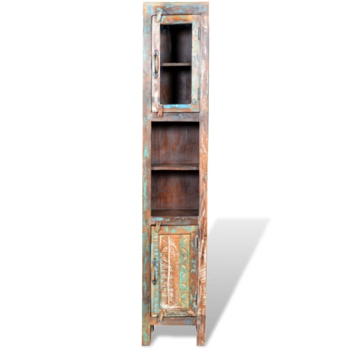 Reclaimed Solid Wood Vanity Cabinet Set with Mirror &amp; 2 Side CabinetsHome &amp; Garden<br>Reclaimed Solid Wood Vanity Cabinet Set with Mirror &amp; 2 Side Cabinets<br>