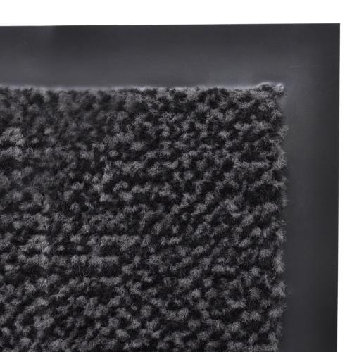 Dust Control Mat Rectangular 90 x 60 cm AnthraciteHome &amp; Garden<br>Dust Control Mat Rectangular 90 x 60 cm Anthracite<br>
