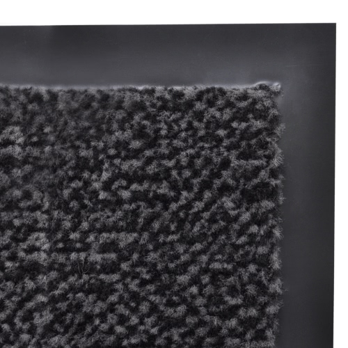 Dust Control Mat Rectangular 180 x 120 cm AnthraciteHome &amp; Garden<br>Dust Control Mat Rectangular 180 x 120 cm Anthracite<br>
