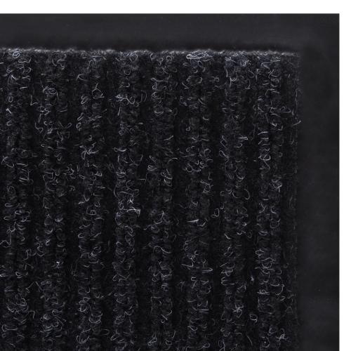 Black PVC Door Mat 90 x 120 cmHome &amp; Garden<br>Black PVC Door Mat 90 x 120 cm<br>