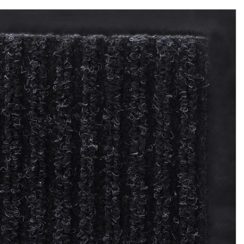 Black PVC Door Mat 120 x 180 cmHome &amp; Garden<br>Black PVC Door Mat 120 x 180 cm<br>