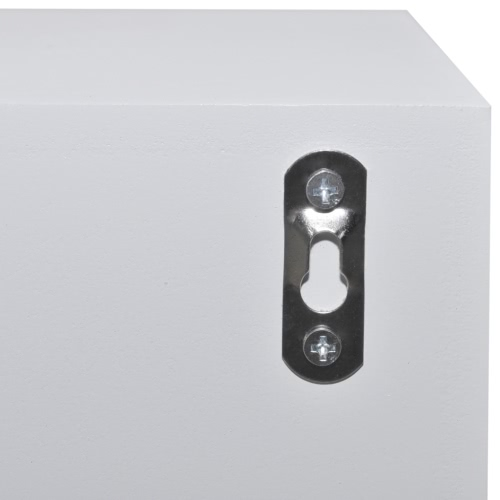 White Wood Four-drawer CabinetHome &amp; Garden<br>White Wood Four-drawer Cabinet<br>