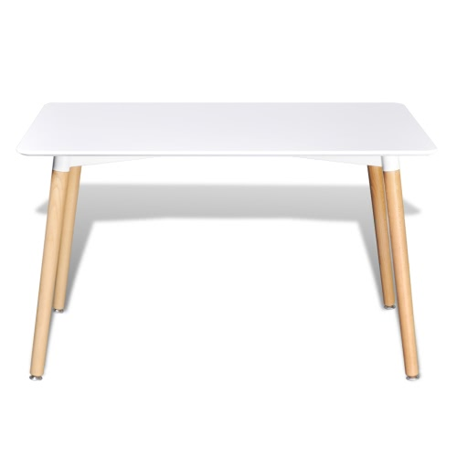 Matte White Rectangular Dining TableHome &amp; Garden<br>Matte White Rectangular Dining Table<br>