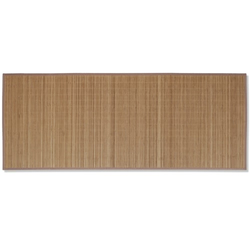 Rectangular Brown Bamboo Rug 150 x 200 cmHome &amp; Garden<br>Rectangular Brown Bamboo Rug 150 x 200 cm<br>