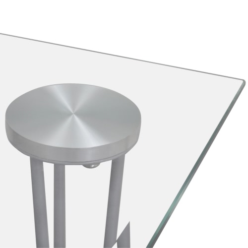 Transparent Glass Top Dining TableHome &amp; Garden<br>Transparent Glass Top Dining Table<br>