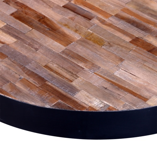 Coffee Table Round Reclaimed TeakHome &amp; Garden<br>Coffee Table Round Reclaimed Teak<br>
