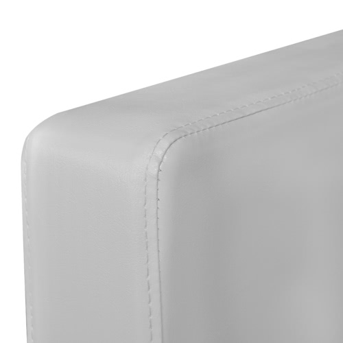 White Artificial Leather ArmchairHome &amp; Garden<br>White Artificial Leather Armchair<br>