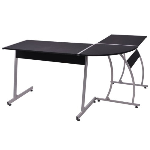 Corner Desk L-Shaped BlackHome &amp; Garden<br>Corner Desk L-Shaped Black<br>