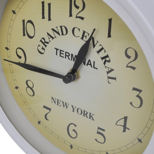 Wall Clock Two-Sided Classic DesignHome &amp; Garden<br>Wall Clock Two-Sided Classic Design<br>