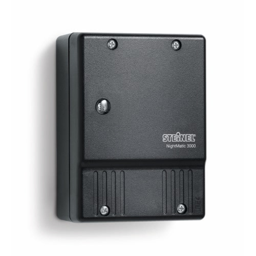 Steinel Photoelectric Lighting Controller NightMatic 3000 Black