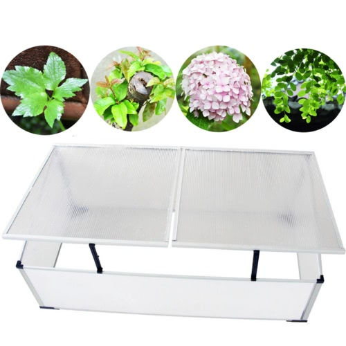 Cold Frame 2 Lids 110x41x55 cmHome &amp; Garden<br>Cold Frame 2 Lids 110x41x55 cm<br>