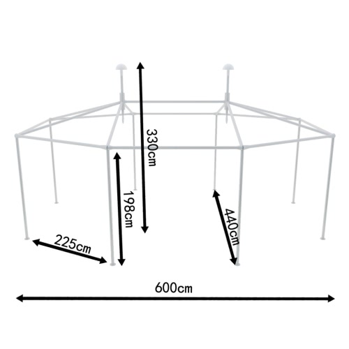 Outdoor Wedding Party Tent Poles Tent Assemble Accessory SetHome &amp; Garden<br>Outdoor Wedding Party Tent Poles Tent Assemble Accessory Set<br>