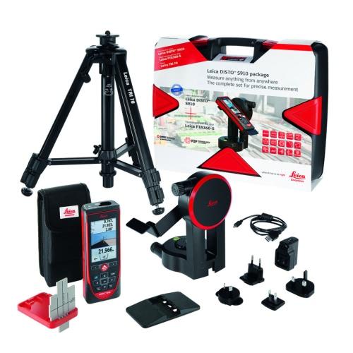 Leica Laser-Abstandsmesser Disto S910 Set mit Box