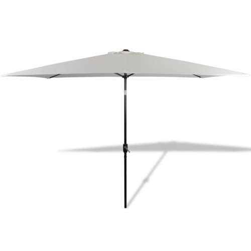 Square Parasol 200 x 300 cm Sand WhiteHome &amp; Garden<br>Square Parasol 200 x 300 cm Sand White<br>