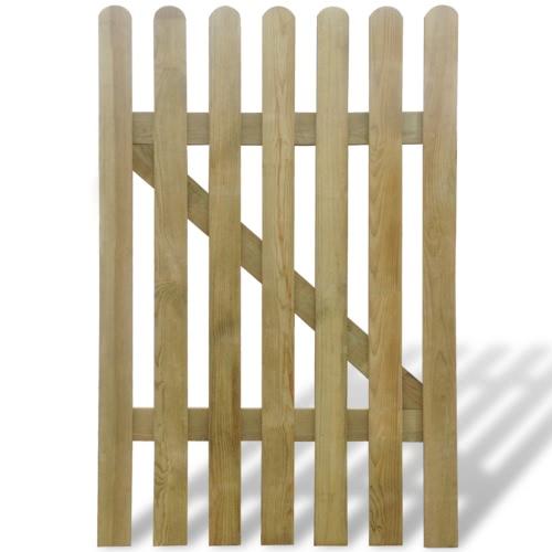 Holzgartentor mit Latten 100 x 150 cmHome &amp; Garden<br>Holzgartentor mit Latten 100 x 150 cm<br>