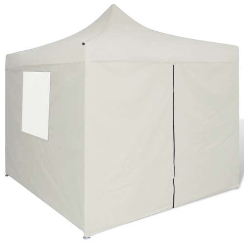 Cream Foldable Tent 3 x 3 m with 4 WallsHome &amp; Garden<br>Cream Foldable Tent 3 x 3 m with 4 Walls<br>