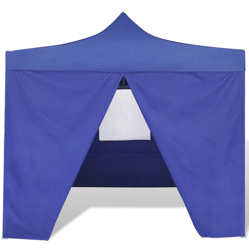 Blue Foldable Tent 3 x 3 m with 4 WallsHome &amp; Garden<br>Blue Foldable Tent 3 x 3 m with 4 Walls<br>