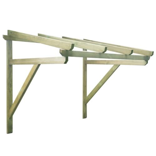 Wooden Door Canopy 200 x 100 x 160 cmHome &amp; Garden<br>Wooden Door Canopy 200 x 100 x 160 cm<br>