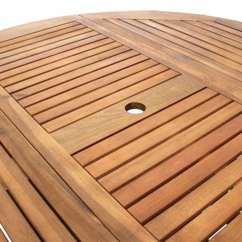 Nine Piece Outdoor Folding Dining Set Acacia WoodHome &amp; Garden<br>Nine Piece Outdoor Folding Dining Set Acacia Wood<br>