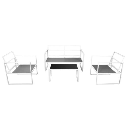 12 Piece Garden Sofa Set Textilene BlackHome &amp; Garden<br>12 Piece Garden Sofa Set Textilene Black<br>