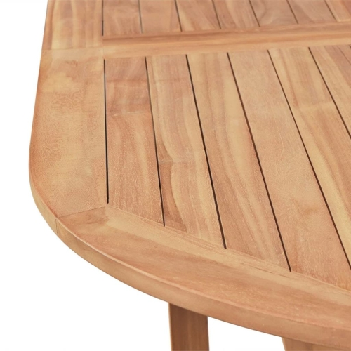 Outdoor Dining Table 180x90x75 cm TeakHome &amp; Garden<br>Outdoor Dining Table 180x90x75 cm Teak<br>