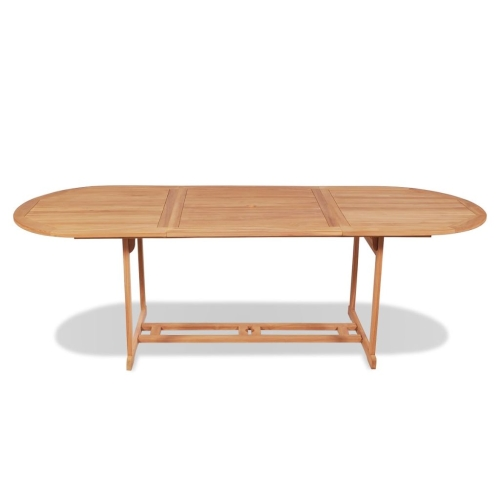 Outdoor Dining Table 240x90x75 cm TeakHome &amp; Garden<br>Outdoor Dining Table 240x90x75 cm Teak<br>