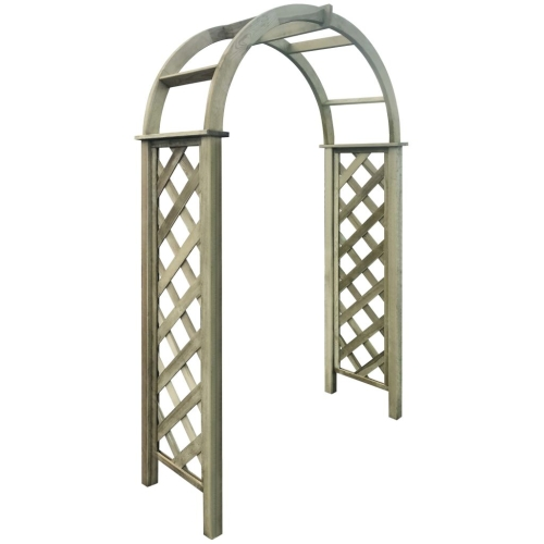 Trellis Arch Green Impregnated PinewoodHome &amp; Garden<br>Trellis Arch Green Impregnated Pinewood<br>