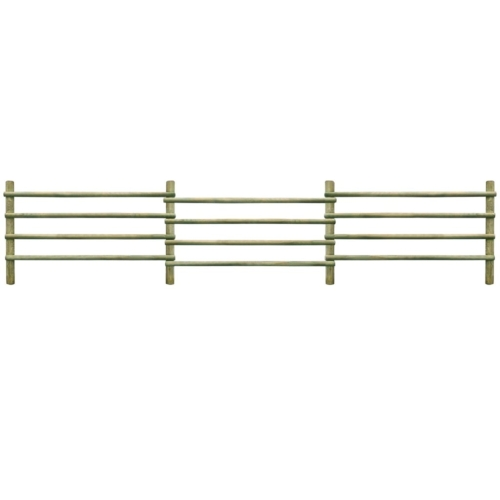 Garden Fence Impregnated Pinewood 100% FSC 6 mHome &amp; Garden<br>Garden Fence Impregnated Pinewood 100% FSC 6 m<br>