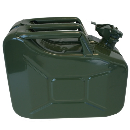 ProPlus Jerry Can 10L Metal Green