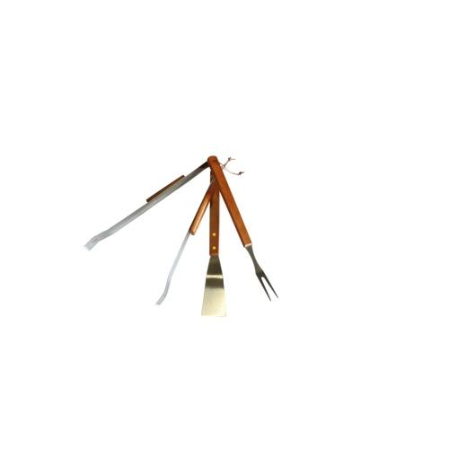 3 pcs BBQ Tool SetHome &amp; Garden<br>3 pcs BBQ Tool Set<br>