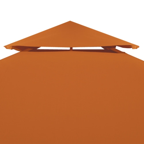 Water-proof Gazebo Cover Canopy 270 g/m? Terracotta 3 x 4 mHome &amp; Garden<br>Water-proof Gazebo Cover Canopy 270 g/m? Terracotta 3 x 4 m<br>