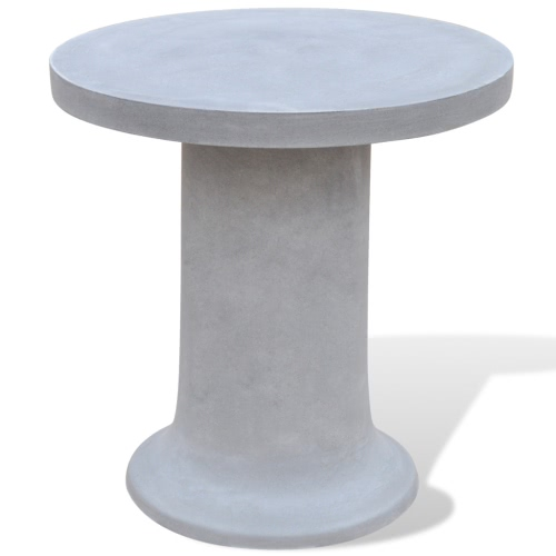 Concrete Furniture Set 2 Stools 1 Table OutdoorHome &amp; Garden<br>Concrete Furniture Set 2 Stools 1 Table Outdoor<br>