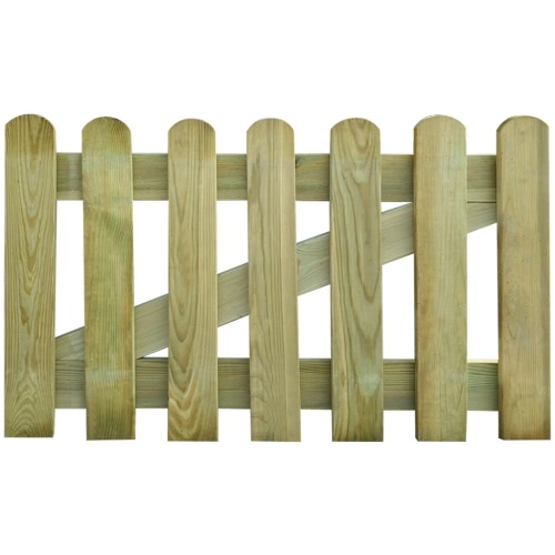 Wooden Garden Gate 100 x 60 cmSmart Device &amp; Safety<br>Wooden Garden Gate 100 x 60 cm<br>